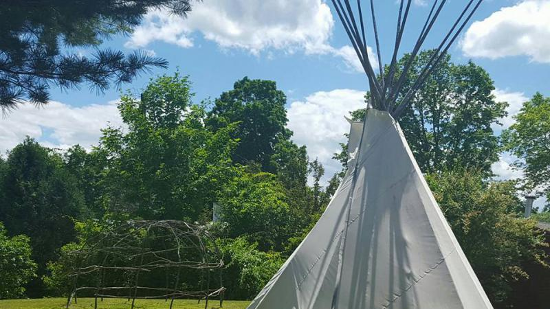 Mt Kearsarge Native American Tent