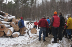 Timber harvest tour