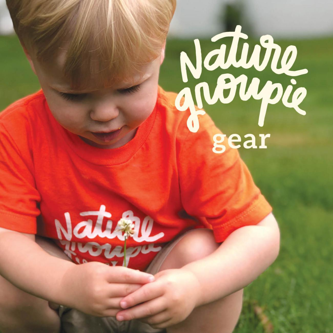 nature groupie gear toddler in orange