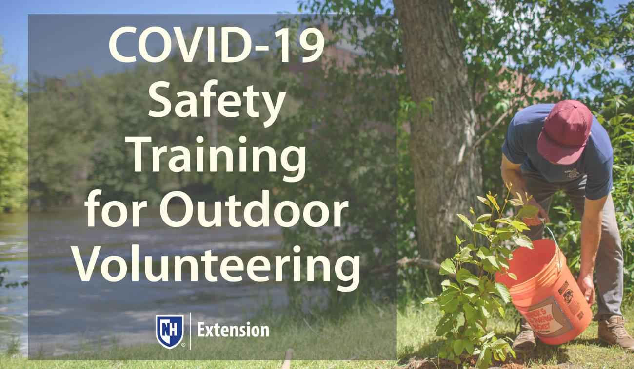 COVID-19 Safety Training Icon for Volunteers