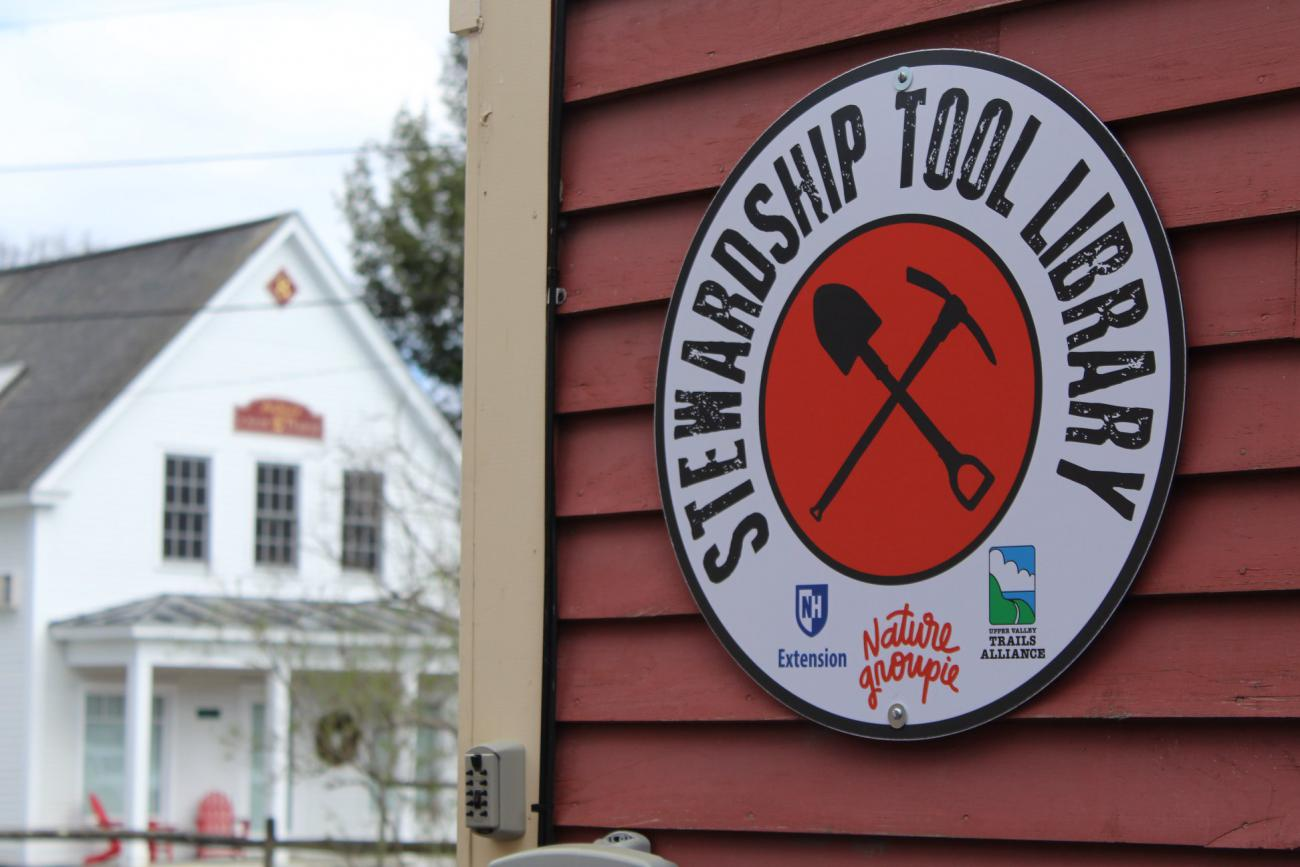 Upper Valley Tool Shed Sign