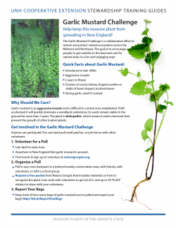 Image of garlic mustard fact sheet document