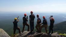 Maine Conservation Corps group photo