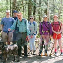 chocorua mountain club group photo