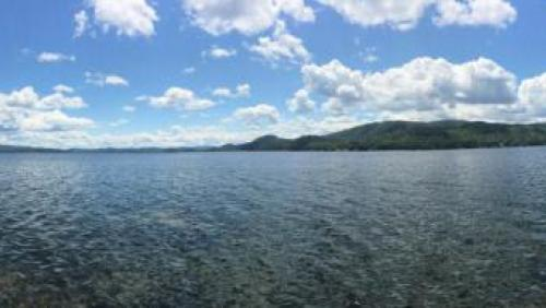 Newfound Lake Panorama